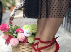 Şık topuklu ayakkabılar